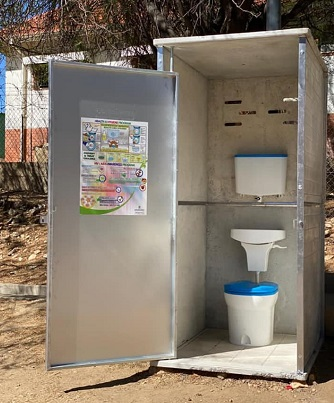 City of Windhoek receives 20 dry sanitary ablution facilities