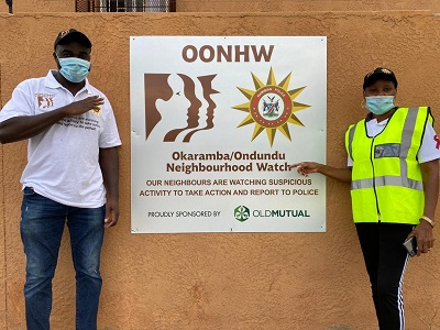 Old Mutual invests N$300,000 in community policing