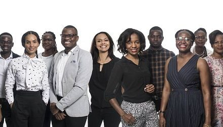 Twelve bright young faces line up for Trustco's demanding junior board training