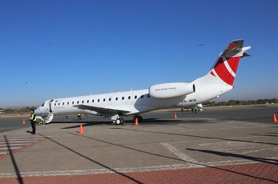 FlyWestair connects Windhoek to Walvis Bay and Walvis Bay to Ondangwa