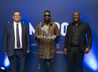 Gazza stays winning – Bags Best Artist of the Decade accolade