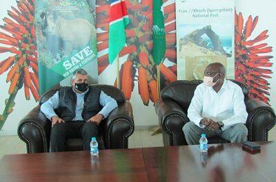 UN World Tourism Organisation Secretary General lands in Namibia