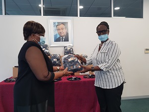 UN Population Fund donates face masks to AIDS widows and orphans