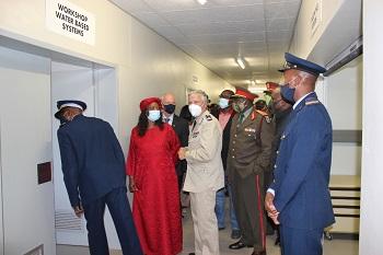 Germany supports Osana Military Base with training facilities