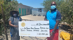 Breweries embarks on country-wide centenary giving campaign – N$1 million to be shared between charitable organisations
