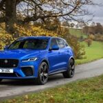 New Jaguar F-PACE SVR is now faster, more dynamic