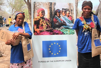 Nyae Nyae Conservancy continues to improve governance with the assistance of the EU
