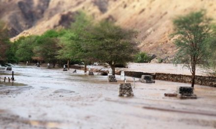 Flood damaged /Ai-/Ais Hotsprings and Spa forced to shut down temporalily for three months