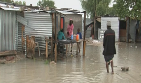 Informal settlements plagued by ongoing flash floods as heavy rains pour