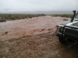 Windhoek Mayor warns of floods as heavy rains persist
