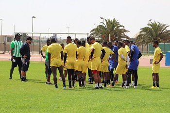Brave Warriors jet off to Cameroon for African Nations Championship finals amid COVID-19 pandemic