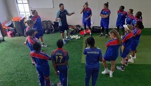 Women's cricket squad participates in five-day national camp