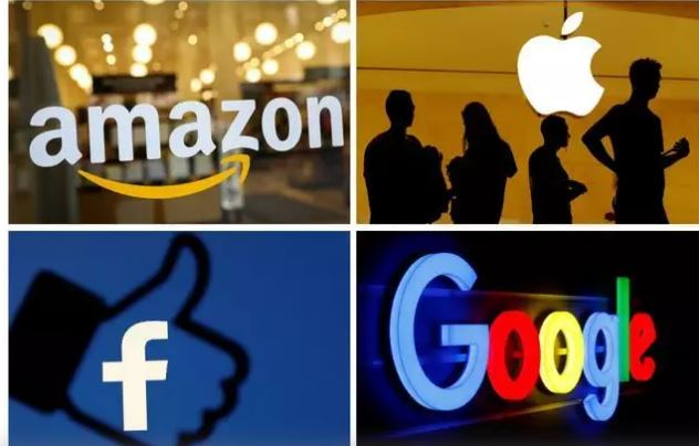 Three tech giants accounted for over 53% of S&P 500 total gains in 2020