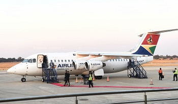 Airlink to continue the  Windhoek and Walvis Bay flight routes as South Africa closes all land borders