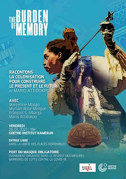 Artistic works under the 'Burden of Memory' project fund to feature this month