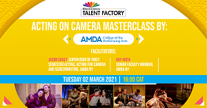 Multichoice Talent Factory introduces 'Acting for Camera' virtual masterclass