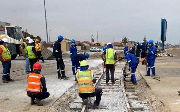 Railway contractor sources majority of workers from coastal communities for Swakop Walvis line