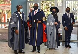 Dr Naomab officially installed as NUST second Vice-Chancellor