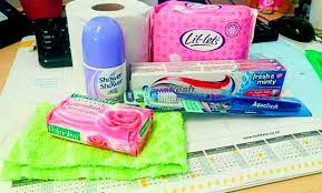 Dignity care packs donated to gender violence and femicide survivors