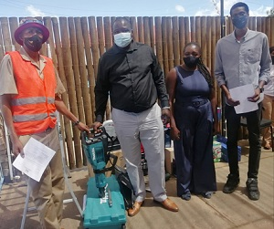 Windhoek West Constituency aids entrepreneurs with equipment to support the growth of income-generating activities