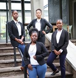 Local financial firms award bursaries to seven finance students