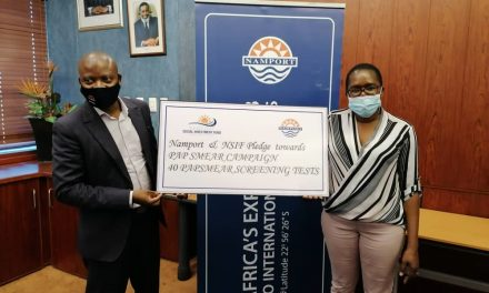 Underprivileged women in Walvis Bay screened for cervical cancer through pap smear campaign