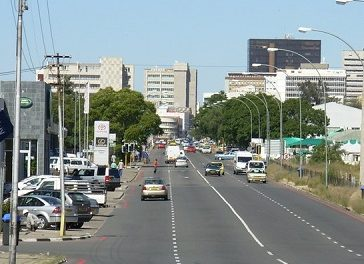 Namibia records highest GDP contraction