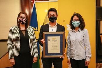 Engen Namibia receives Diamond Arrow award
