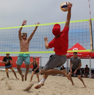 Beach volleyball tourney set for weekend