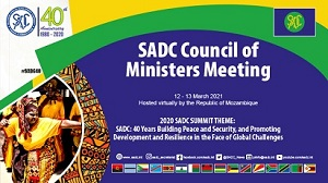 SADC Council of Ministers deliberate on the current situations in the region