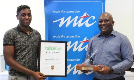MTC CEO receives executive of the year accolade