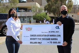 Windhoek Central Hospital paediatric ward receives renovation funds from breweries