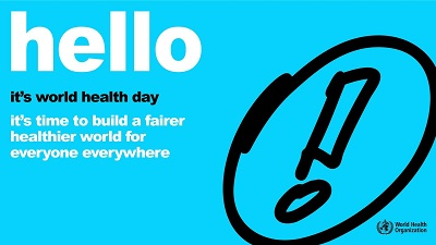 Lets build a fairer and healthier world for everyone – WHO