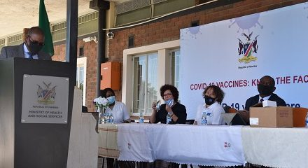 EU welcomes more vaccines to Namibia