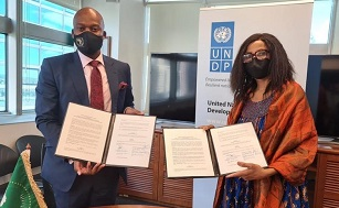 AfCFTA Secretariat and UNDP sign a strategic partnership agreement to promote trade in Africa
