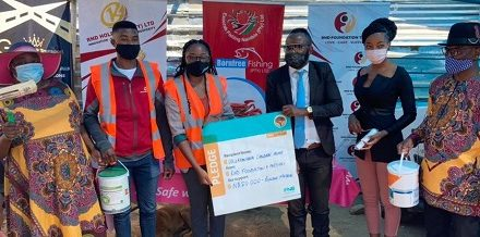 Okuryangava Children's home receives a boost from RND Holdings