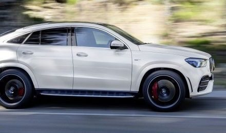 Want to be noticed? Then the Merc GLE AMG is for you!