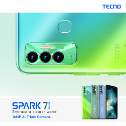 TECNO mobile launches the new-gen Spark 7P for Gen Z with cutting-edge innovations