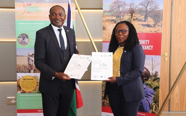 Local component of transboundary Community Conservancy Sustainable Wildlife Management  project launched