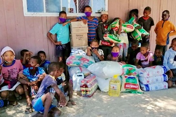 N≠a Jaqna Conservancy distributes nutritious food to 16 schools and pre-schools this year