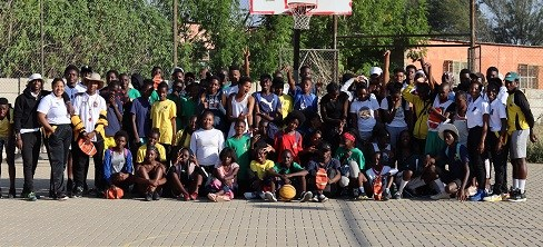 Basketball Artists School celebrate Africa Day with 3×3 action
