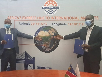 Meatco, Namport sign agreement to export meat products through the Port of Walvis Bay