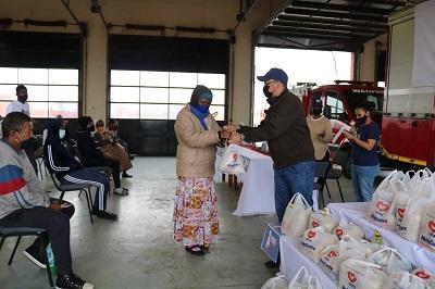 UniSocial donates to the needy community of Walvis Bay