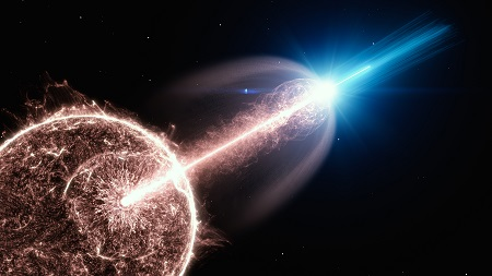 Namibian observatory reveals exceptional cosmic explosion