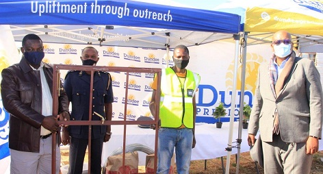 Tsumeb community safety network receives donation to build office from Dundee