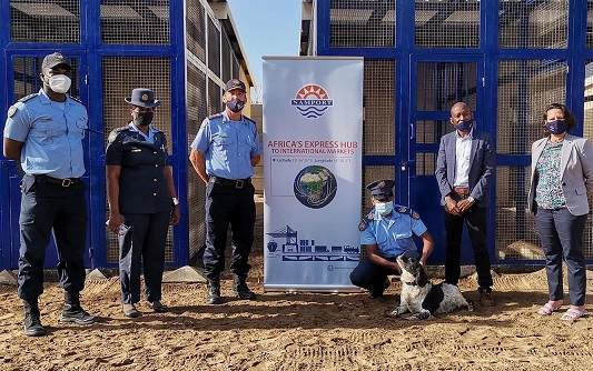 Port canines get new abode sponsored by ports authority
