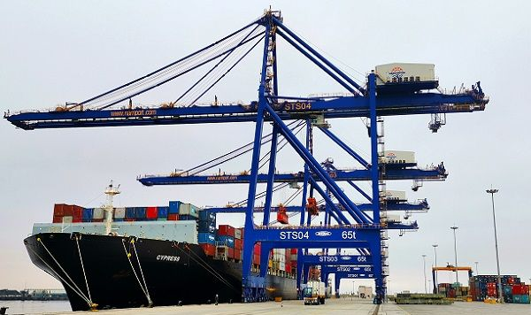 Walvis container terminal turned into storage yard for Cape Town cargo