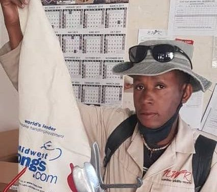 Skilled snake charmer makes sure Etosha's guests are safe