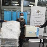 Development Bank donates equipment to Robert Mugabe Clinic