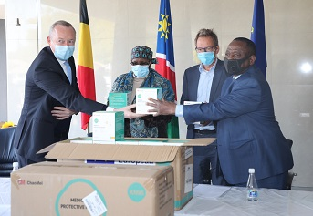 Belgium donates masks to help with COVID-19 battle